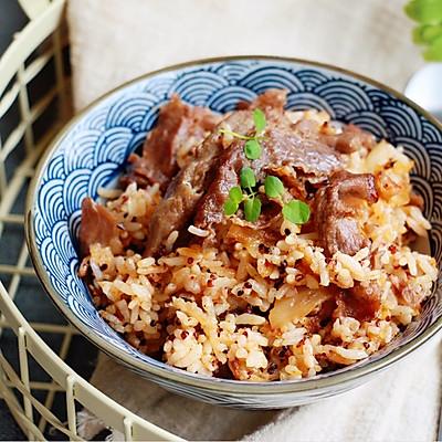 泡菜肥牛炒饭