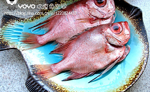 香煎红大眼鱼的做法