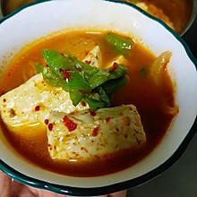 夏日爽口的韩式泡菜汤