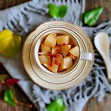 #母亲节,给妈妈做道菜#冰糖.枸杞蒸梨