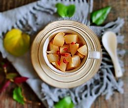 #母亲节,给妈妈做道菜#冰糖.枸杞蒸梨的做法
