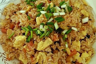 香菇海米炒饭