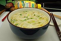 鱼汤面#太太乐鲜鸡汁中式#的做法