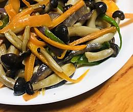 菌菇小炒的做法