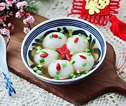 #元宵节美食大赏#虾仁胡萝卜大汤圆的做法