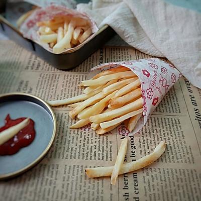 烤薯条~附薯条盒子折法