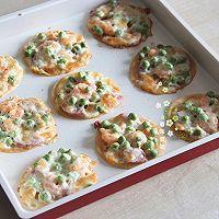 黑椒香肠鲜虾迷你披萨#一机多能 一席饪选#的做法图解10