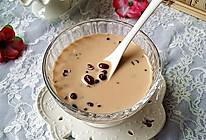 蜜豆奶茶#美的女王节#的做法