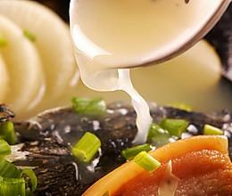 鲟鱼头汤的做法
