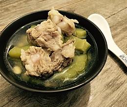 黄豆苦瓜排骨汤的做法