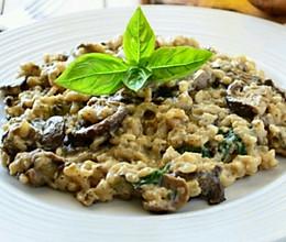 意式蘑菇烩饭【Mushroom Risotto】的做法