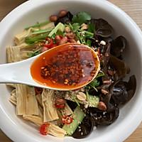 凉拌黄瓜腐竹的做法图解6