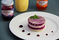 紫薯山药糕#丘比轻食厨艺大赛#的做法