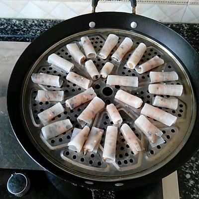 白萝卜鸡肉卷