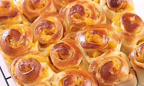 菠萝面包卷的做法