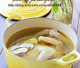 松茸鸡汤的做法