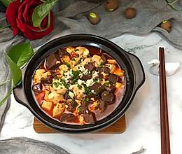 鸭血豆腐煲的做法