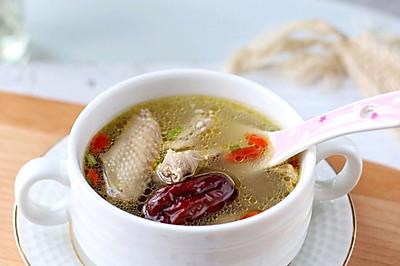 红枣枸杞鸽子汤,简单易学,鲜美又营养,老少皆宜