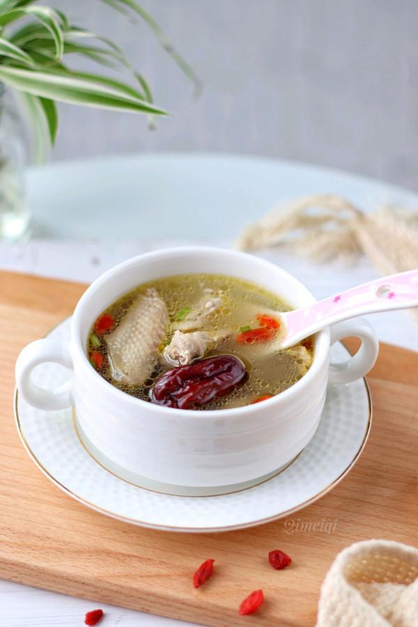 红枣枸杞鸽子汤,简单易学,鲜美又营养,老少皆宜的做法