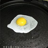 煎蛋火腿三明治的做法图解3