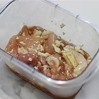 彩椒鸡肉烤串的做法图解1