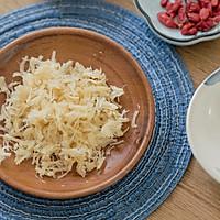 枸杞瑶柱栗米羮的做法图解3