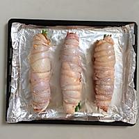 杂蔬核桃鸡肉卷#松下电烤箱美食#的做法图解12