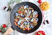 #硬核菜谱制作人#西班牙至尊海鲜烩饭的做法