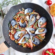 #硬核菜谱制作人#西班牙至尊海鲜烩饭