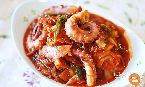 拌一大碗饭,辣炒章鱼的做法