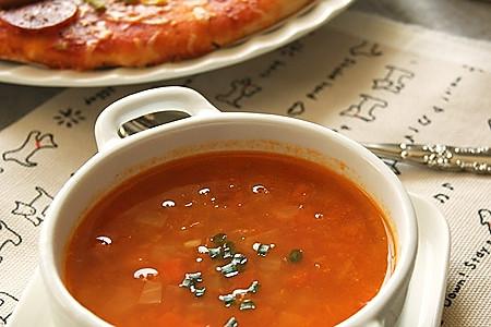 番茄洋葱汤的做法
