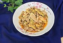 榨菜炒肉片的做法
