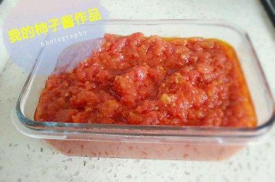 制作柿子醬