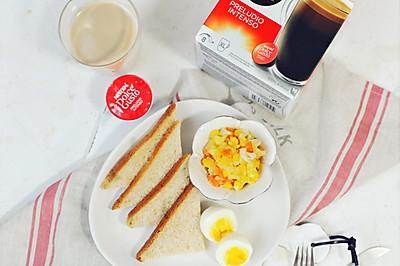 体重控制人群15分钟营养早餐#雀巢营养健康#