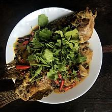 百香果红烧鱼
