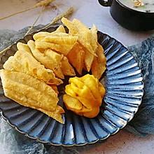 #一道菜表白豆果美食#在家也能做出好吃的油条