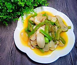 丝瓜炒杏鲍菇的做法