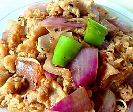 洋葱炒肥牛---肥牛洋葱的美味快手小炒!的做法