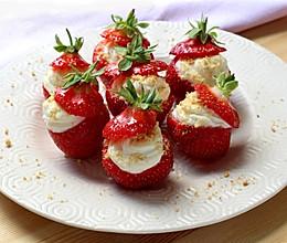 乳酪草莓的做法