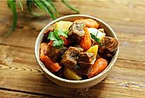牛肉烧土豆胡萝卜的做法
