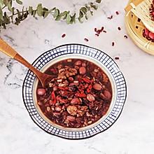 #快手又营养,我家的冬日必备菜品#红豆燕麦米粥