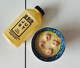 #植物蛋 美味尝鲜记# 虾仁蒸植物蛋的做法
