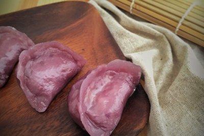 紫薯水晶蒸饺 —— 素食·一人食