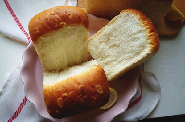 一次发酵快手柠檬土司的做法