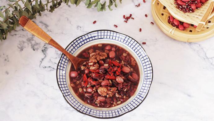 红豆燕麦米粥
