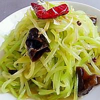 夏季凉菜~清淡爽口的呛莴笋的做法图解9