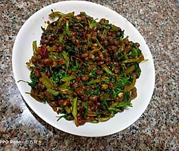 香菜水豆豉的做法