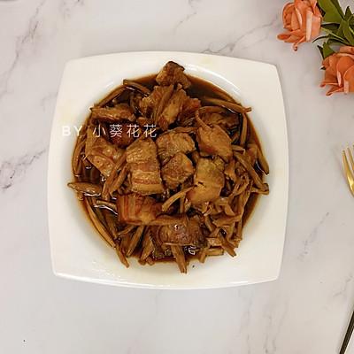 金针菜焖五花肉