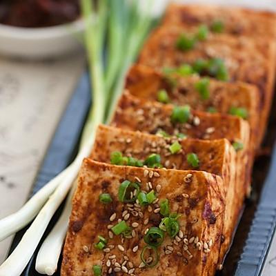 """巧用""""叮叮""""----微波烤豆腐"""