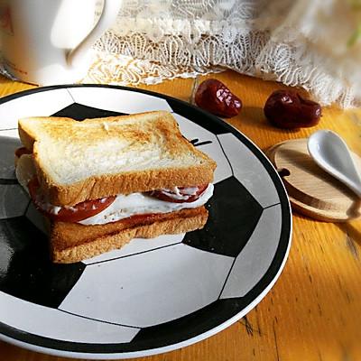 之十分钟搞定美味早餐#利仁电饼铛试用#的做法 步骤9